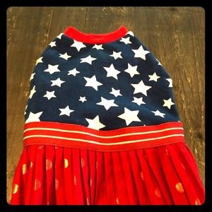 Other - Patriotic Girl Doggy Dress.
